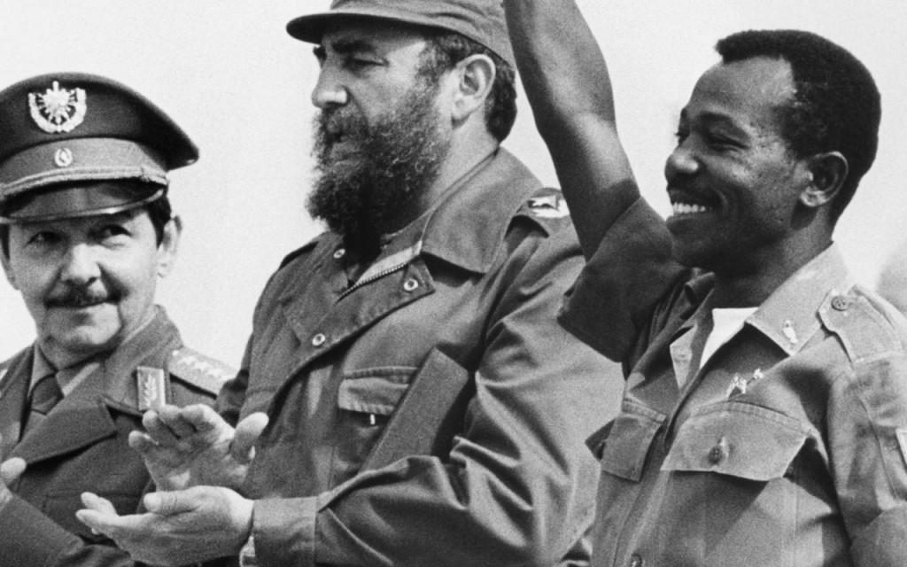 Mengistu y sus amigos del círculo de dictadores.