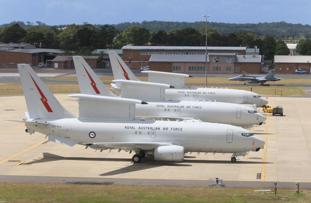 Wedgetails de la RAAF.