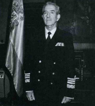 El Almirante Nardiz, padre del Plan Alta Mar.
