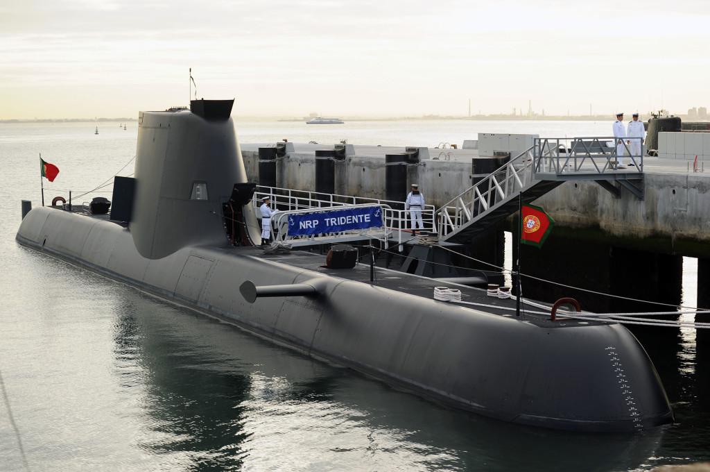 Submarino portugués Tridente, de la clase 214 (en realidad, 209PN). Sin lugar a dudas, nuestros vecinos han dado un salto de gigante en cuanto a capacidad submarina.