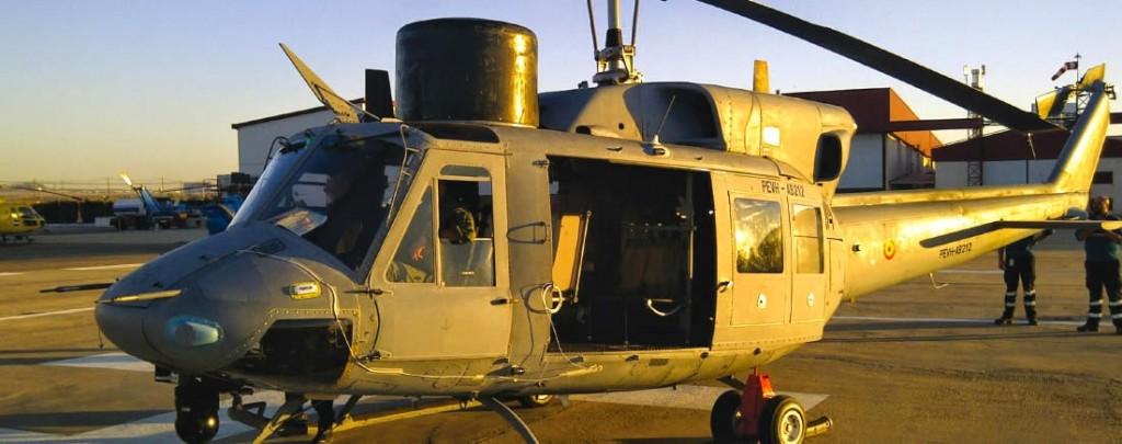 AB-212 modernizado. Los cambios con respecto al modelo original son francamente visibles.