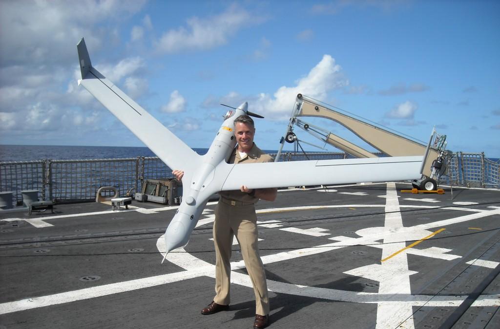 Scan Eagle, el UAV elegido por la Armada.