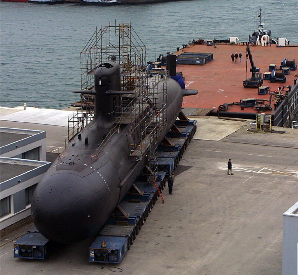 El submarino chileno O'Higgins, de la clase Scorpene, construido en Navantia Cartagena. Podrían haber sido unas buenas unidades de transición.
