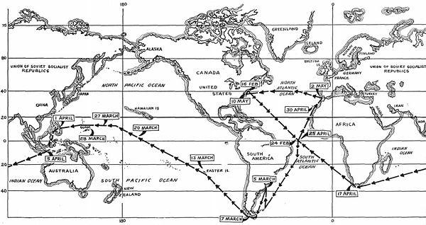 La vuelta al mundo del Tritón.