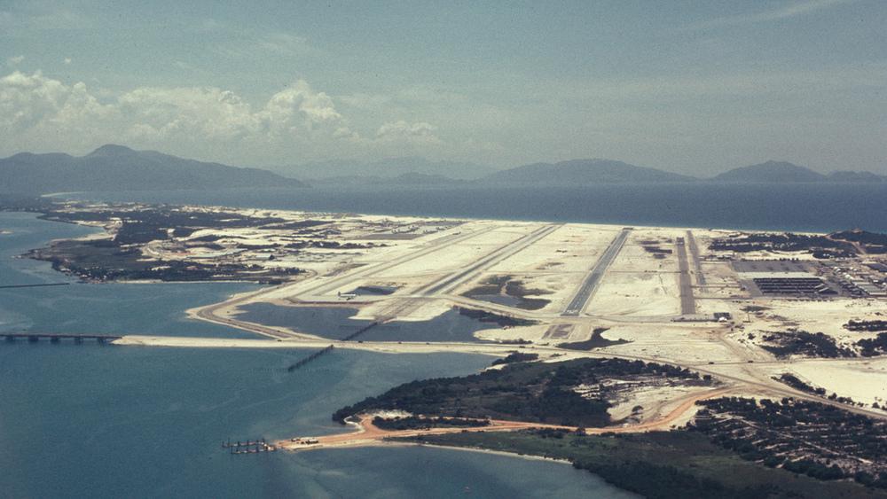 Las pistas de 3000 metros de la base de Cam Ranh.
