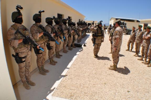 Actualmente, fuerzas especiales lusas y españolas adiestran de forma conjunta a las unidades del ejército iraquí que se enfretarán a DAESH.