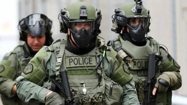 Militarized-police