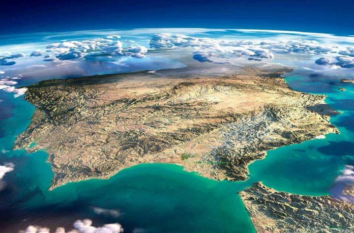 Península ibérica diurna IIIII