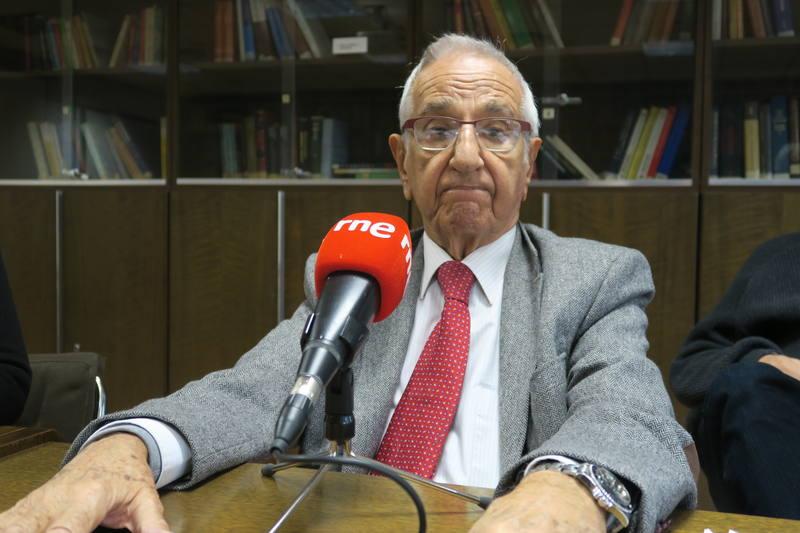 Guillermo Velarde, en una reciente entrevista en RNE.