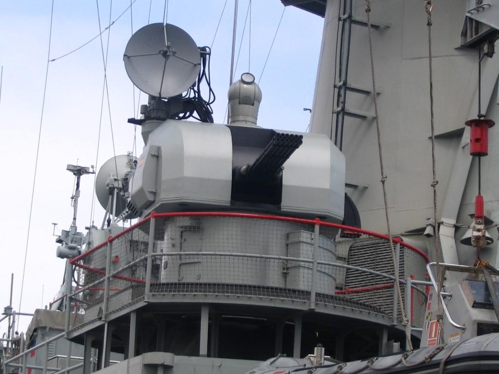 El MEROKA fue la fallida apuesta nacional por dotar a nuestros buques de un sistema de defensa de punto.