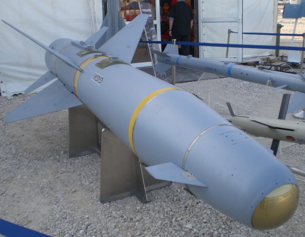 AGM-142, más conocido como Popeye: el vector lanzamiento nuclear israelí.