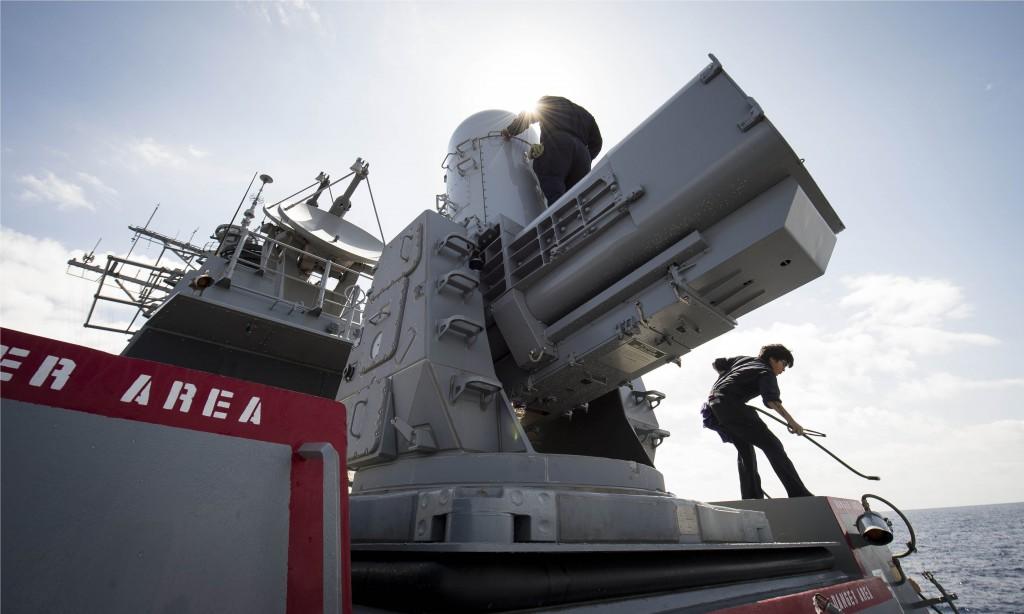 Sea RAM, defensa de punto mediante misiles derivados del Stinger.