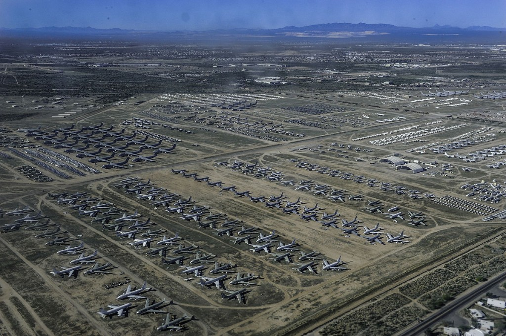 El AMARC visto desde el aire. Esta es la única foto no tomada por el autor.