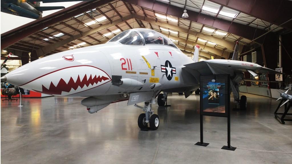 El F-14 de Maverick.
