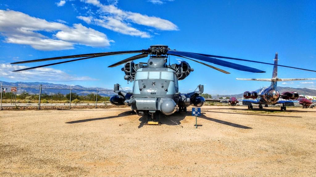 Un MH-53, veterano de operaciones de COMBAT SAR en la primera guerra del Golfo (Operación Tormenta del Desierto).