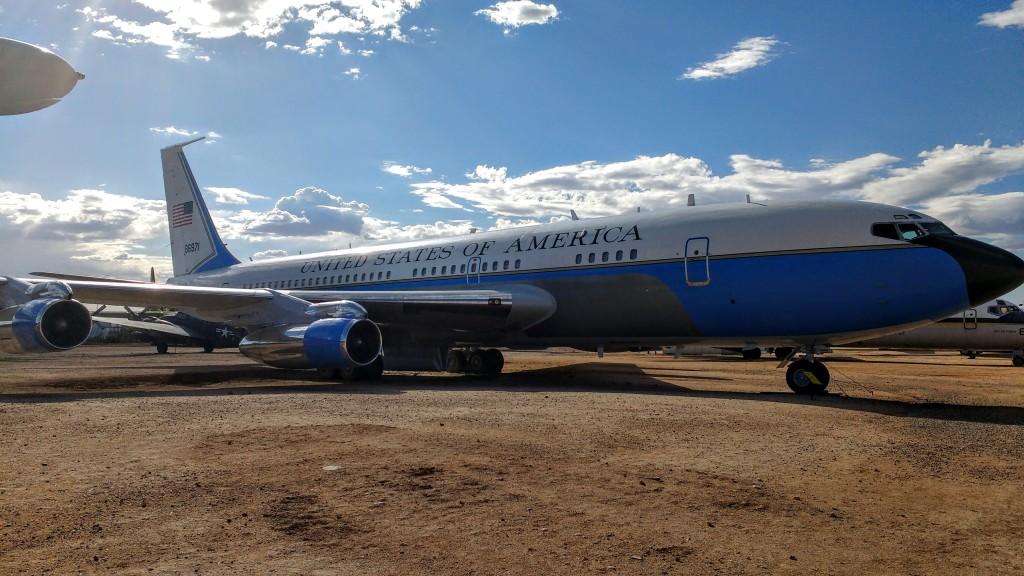 El Air Force One de JFK.