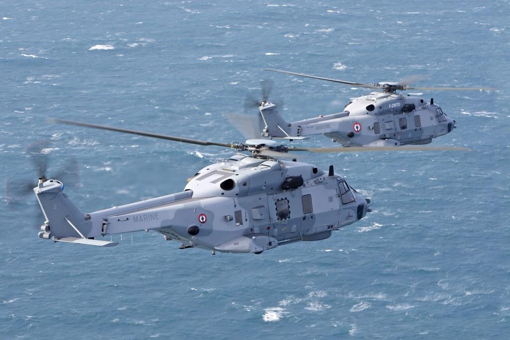 Francia y otras marinas europeas ya operan el NH-90 naval... con algunos problemas.